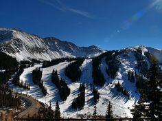 Went snowboarding on the slopes of Loveland