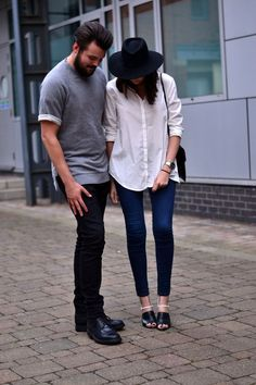 His and Hers: Dressed Up in Denim (via Bloglovin.com )