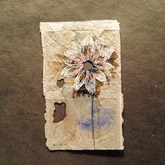 363 days of tea. Day 148. #recycled #teabag #art