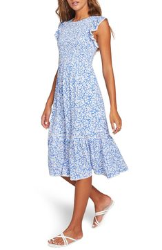 Simple Dresses, Casual Dresses, Figure Flattering Dresses, Summer Day Dresses, Floral Midi Dress, Nordstrom Dresses, Style Inspiration, Fashion Outfits, My Style