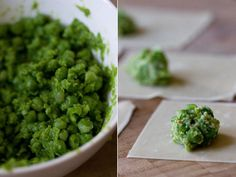 Monica Bhide's Chile Pea Puffs - I love 101cookbooks! Been making these for years, and even Steve loves them.
