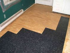 """This Instructable shows you how to install Resilient tile, also known as """"Vinyl Composition"""" or """"Asphalt"""" tile, the type found in most commercial settings, like grocery stores. It's probably easier than you think!"""