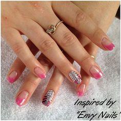 pink and whites by Melinailfreak - Nail Art Gallery nailartgallery.nailsmag.com by Nails Magazine www.nailsmag.com #nailart