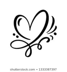 Find Heart Love Sign Illustration Romantic Symbol stock images in HD and millions of other royalty-free stock photos, illustrations and vectors in the Shutterstock collection. Single Line Drawing, Decorative Lines, Shirt Print Design, Heart Logo, Cricut Creations, Love Signs, Bullet Journal, Tongue Piercings, Cartilage Piercings