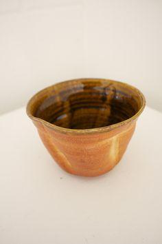 soda kiln fired ceramic bowl