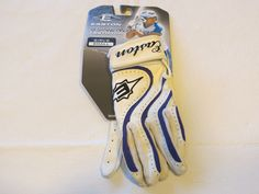 Easton Fastpitch Girl's small S gloves synergy batting softball baseball wht pur…