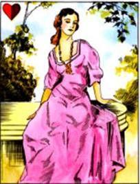 Ezoterikus iskola: Cigánykártya lapjai - szerelmes nő