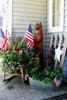 Front Porch for July | Flickr - Photo Sharing!
