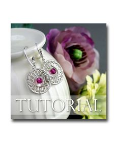 Circle Earrings Wire Wrapping Jewelry Making by SilverDetails, $6.00