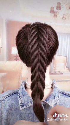 Hairdo For Long Hair, Long Hair Video, Easy Hairstyles For Long Hair, Hair Updo, Long Hair Dos, Braided Hairstyles Tutorials, Indian Hairstyles, Hair Tutorials, Hair Style Vedio