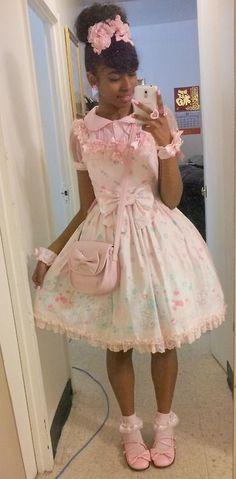 Sweet Lolita Harajuku Fashion | pastel fashion | Pinterest