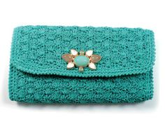 crochet clutch purse                                                                                                                                                      More
