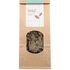 LEAF Peppermint infusion loose leaf tea 20g