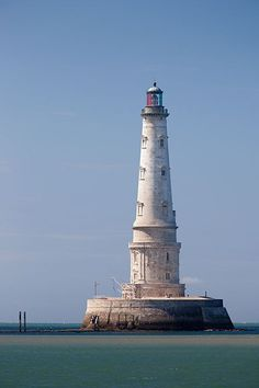 Cordouan Lighthouse is the oldest lighthouse in France