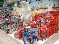 Allestimento Natale - Punto Vendita #IoBimboSardegna #Olbia #Natale #2012 #Orso #Neve #AlberoNatale