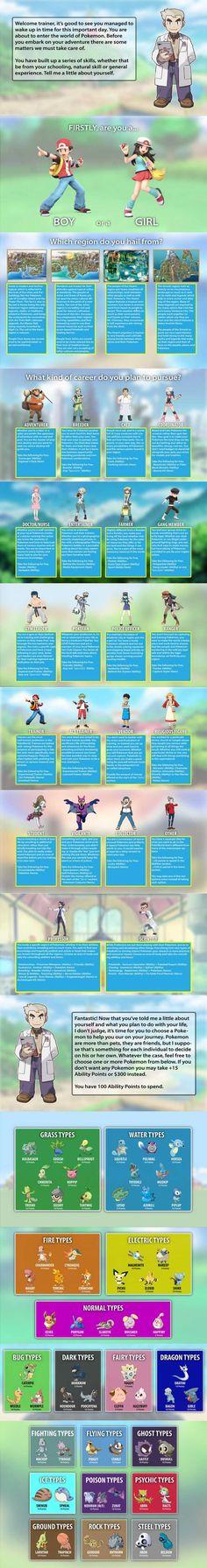 Post with 3600 votes and 127444 views. Tagged with pokemon, cyoa, trainer, chooseyourownadventure, myoa; Shared by SkylerGorsett. Baby Pokemon, First Pokemon, Pokemon Funny, Pokemon Memes, Pokemon Stuff, All Dark Type Pokemon, Cyoa Games, Strongest Pokemon, Create Your Own Adventure