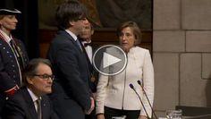 Font: Nació Digital Promesa de Carles Puigdemont al càrrec de 130è President de la Generalitat de Catalunya.