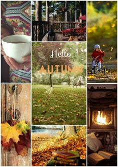 Hello Autumn Collage