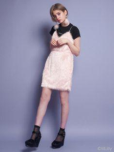 フリンジミニドレス(ドレス)|lilLilly(リルリリー)|lilLilly|リルリリー公式通販サイト
