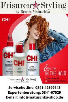 Gleichmäßig auf das Haar sprühen und im Haar belassen, und mit dem Styling fortfahren. Proteine geben dem Haar Stärke, Schutz und Weichheit. Die Porosität des Haarschaftes wird ausgeglichen. Das Haar ist seidig und glänz end, unglaublich frisierbar. #CHI_Infra #matuschka #CHI Farouk Systems