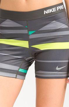 nike pro addiction sorry! Nike Pro Spandex, Nike Pro Shorts, Gym Shorts Womens, Spandex Shorts, Workout Attire, Workout Wear, Workout Shorts, Cute Gym Outfits, Nike Outfits