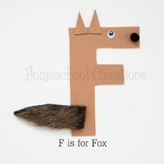 F is for Fox {Craft}