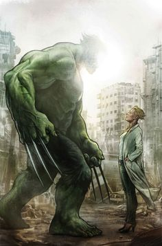 Pin by big burg on incredible hulk pinterest marvel incredible weapon h the union of genes wolverine and hulk arma h a unio dos genes de wolverine e hulk fandeluxe Choice Image