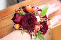 Modern wrist corsages for weddings and special occasions — Sophisticated Floral Designs-Portland Oregon Wedding and Event Florist Homecoming Flowers, Homecoming Corsage, Prom Flowers, Fall Wedding Bouquets, Fall Wedding Flowers, Gold Wedding, Floral Wedding, Dream Wedding, Wedding Coursage