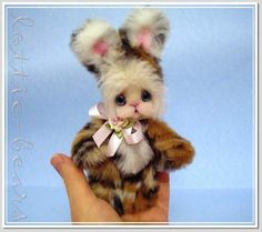 OH THOSE BLUE EYES BUNNY RABBIT By Lottie Brede - Bear Pile