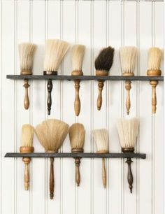 Lather Brush Shelves