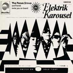 The Focus Group - The Elektrik Karousel Artwork by Julian House Hp Lovecraft Stories, Ghost Box, Pop Art Images, Primal Scream, Vladimir Kush, Focus Group, Underground Music, The Conjuring, Art Music