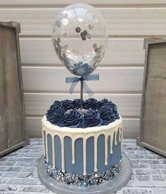 Beautiful Birthday Cakes, Birthday Cakes For Men, Beautiful Cakes, Cake Birthday, Birthday Cake Designs, Balloon Birthday, Birthday Bunting, Designer Birthday Cakes, Chocolate Birthday Cake For Men
