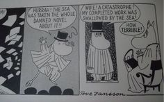 From Moomin and the Sea