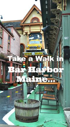 A visit to Bar Harbor, Maine on a Holland America Canada & New England cruise.