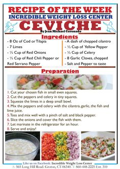 Ideal Protein Ceviche