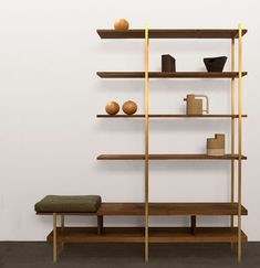 Shelving systems | Storage-Shelving | Interval Shelf | Asher. Check it out on Architonic
