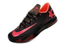 Nike KD VI (6) Black-Atomic Pink Shoes 49037