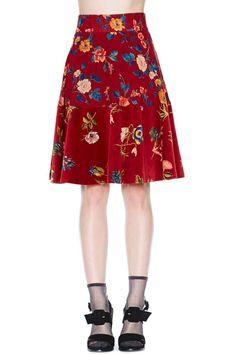 Kenzo Bud of Roses Skirt - Bottoms