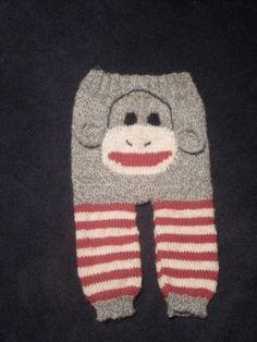 Free Crochet Pattern For Sock Monkey Pants : Crochet? Is that French?? on Pinterest Sock Monkeys ...