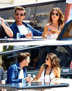Louis and Danielle yesterday