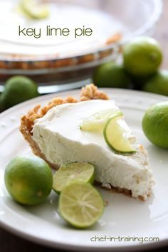 Key Lime Pie from chef. This pie is FABULOUS! It is so quick and easy ...