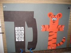 T is for Telephone & t is for tiger.