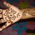 Mehndi Designs Collection for Kids  (Single Hand)