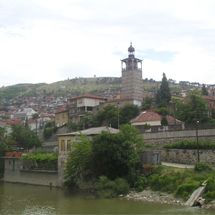Veles - Macedonian's crossroad. This is a city along the shores of the river Vardar, through which the country connects to the ports of the Aegean. It is a city that is a geographical center of Macedonia.