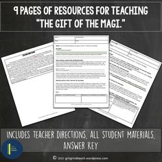 """A FREE resource for teaching your students to cite evidence to support claims using """"The Gift of the Magi."""" Rigorous fun for the holiday season!"""