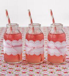 limonada rosa casera
