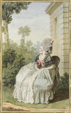 Madame la marquise de Coetlogon, 1770s or early -80s