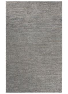 Subtle color gradations create a soft look in this hand-knotted, wool and cotton, textured rug for consumers who gravitate to solid colors but prefer a slightly distressed appearance to create visual interest. Jaipur Rugs, Rug Texture, Home Rugs, Contemporary Style, Wool, Silver, Blue, Solid Colors, Create