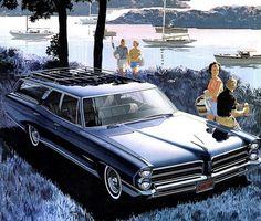 1965 Pontiac Bonneville Safari Wagon