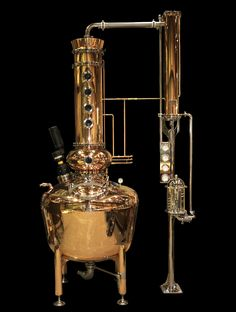 Batch Distillation Systems – Vendome Copper & Brass Works INC